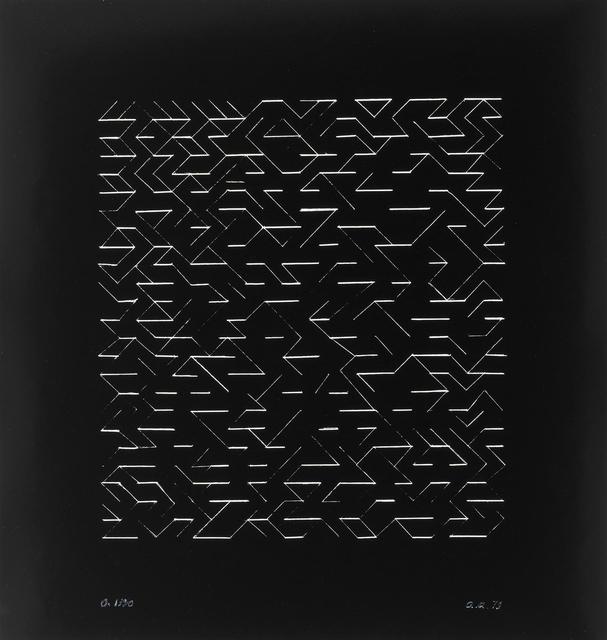 , 'O (Orchestra),' 1979, Cristea Roberts Gallery