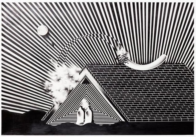 , 'Roof Off,' 2015, Hashimoto Contemporary