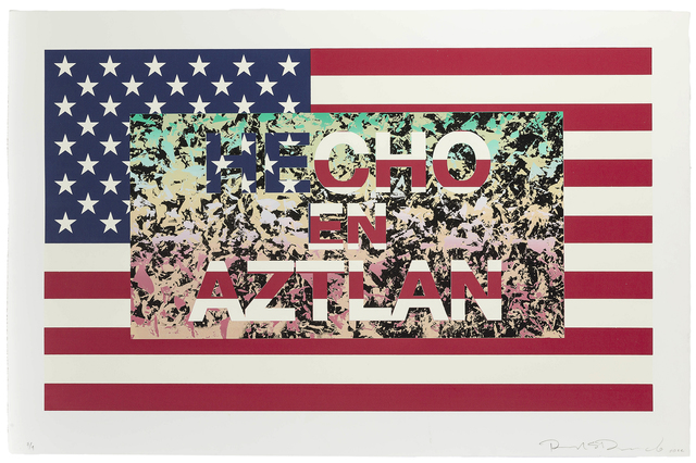 Richard Duardo, 'Hecho en Aztlan (from the Flag Series)', 2012, John Moran Auctioneers