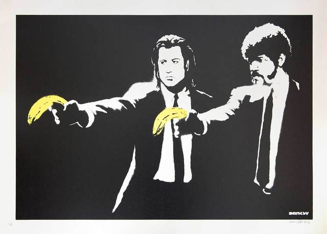Banksy, 'Pulp Fiction (Unsigned)', 2004, Prescription Art