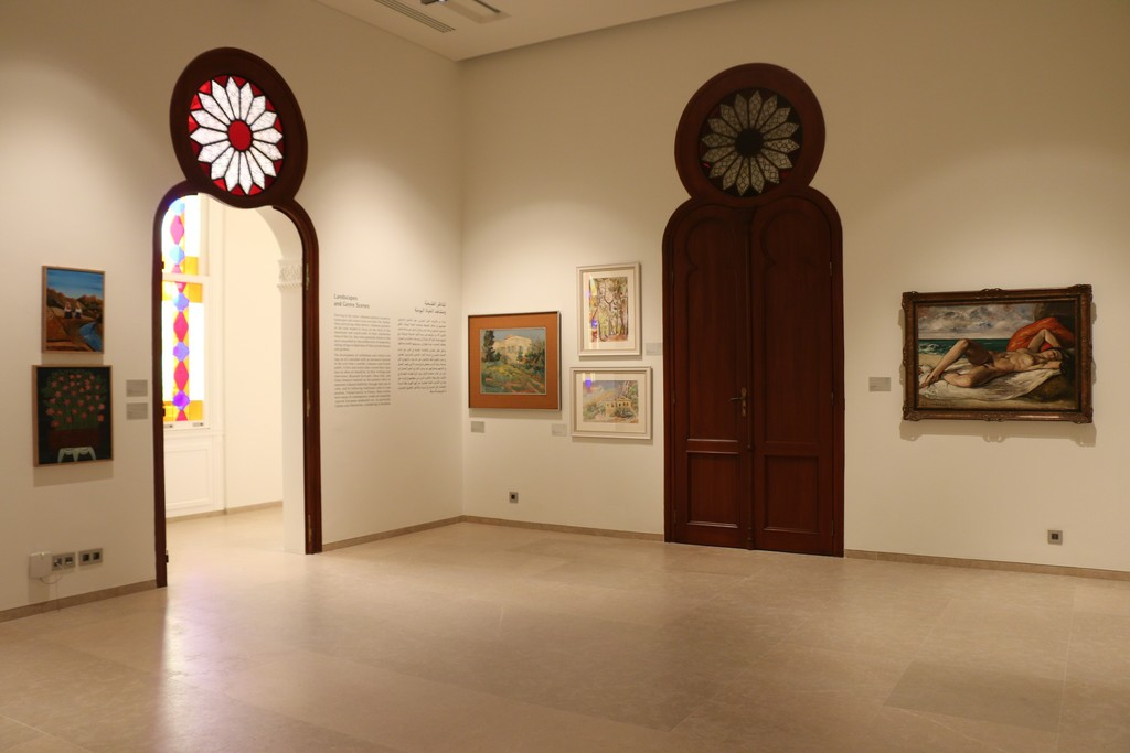 View of the Collection Display. Copyright © 2015 The Sursock Museum