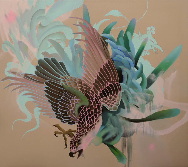 , 'The eagle, the peacock and the chrysanthemum,' 2018, Victor Lope Arte Contemporaneo