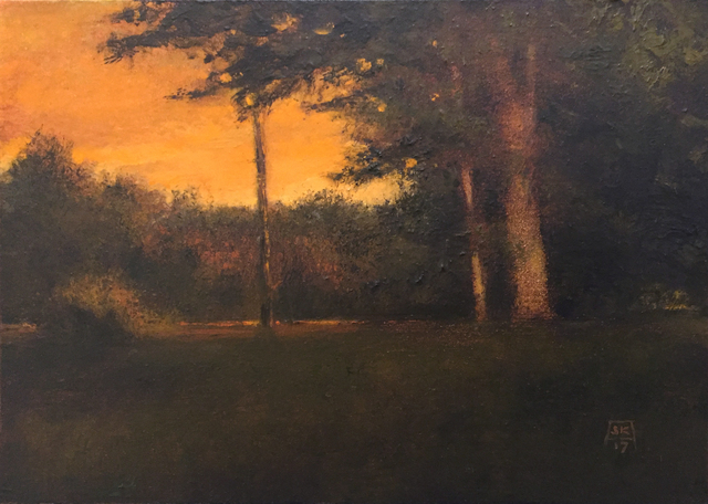 , 'Georgian Trees,' 2017, Abend Gallery