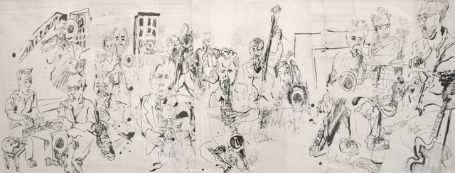 , 'Alan Ferber Big Band at Jazz Gallery,' 2014, Fountain House Gallery