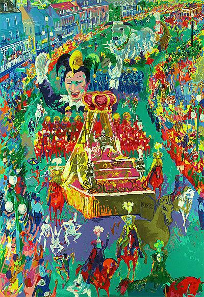 LeRoy Neiman, 'Mardi Gras Parade', 2002, David Parker Gallery