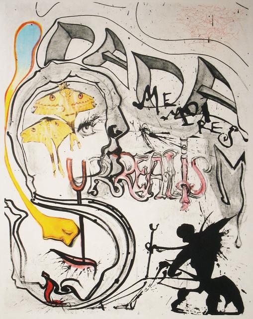 Salvador Dalí, 'Angel of Dada Surrealism', 1971, DTR Modern Galleries