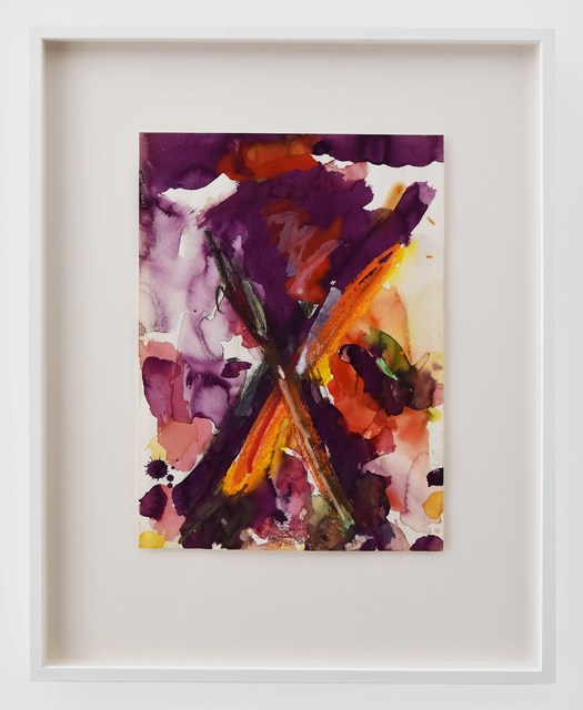Allen Maddox, 'Untitled', 1990, Drawing, Collage or other Work on Paper, Acrylic and pastel on paper, Gow Langsford Gallery