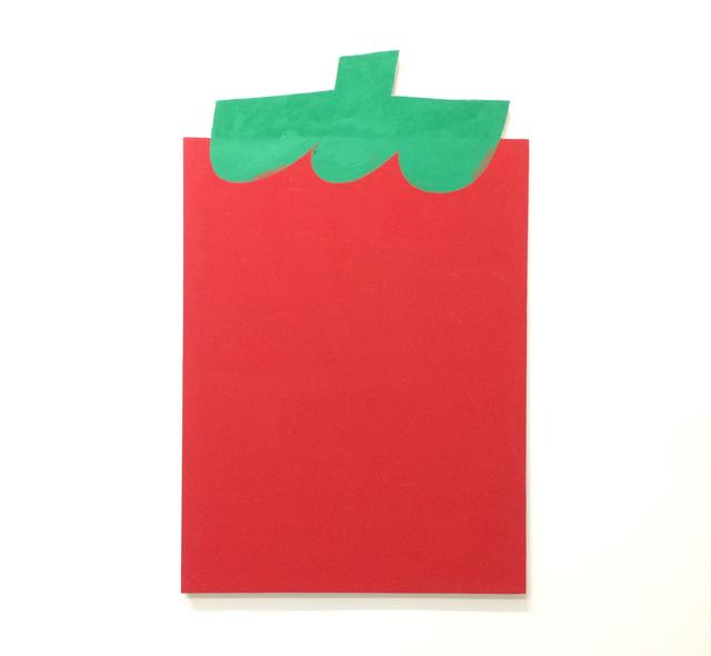 , 'Entrance Painting (Tomato),' 2016, Galerie Kandlhofer
