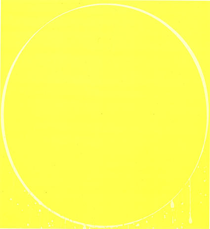 , 'Oval yellow, lemon yellow, yellow,' 2002, Gallery 2C for Art