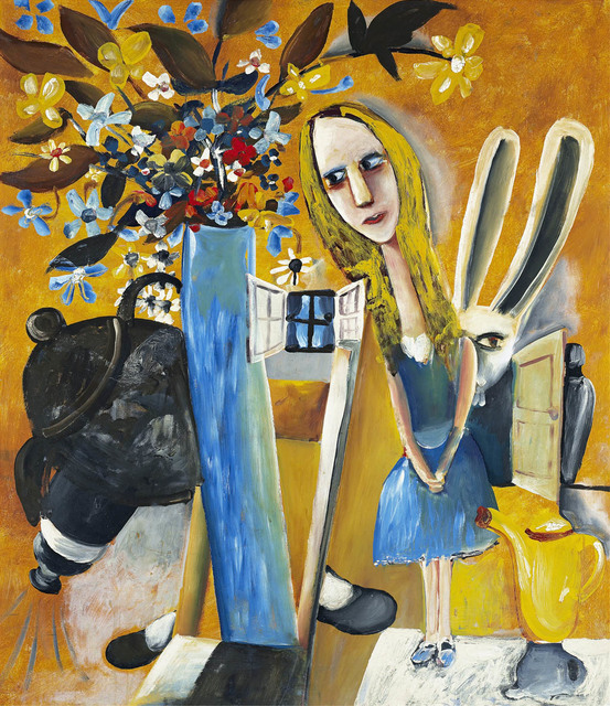 Charles Blackman, 'Alice in Wonderland', 1956, Angela Tandori Fine Art