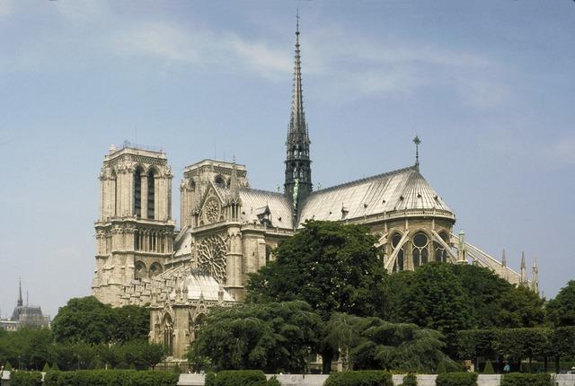 'Notre Dame Cathedral, Paris', Begun ca. 1215, Architecture, Allan Kohl