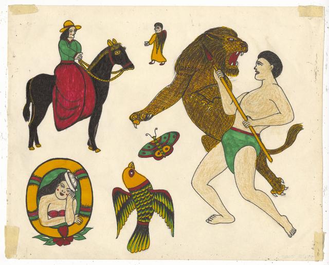 , 'Untitled (Tarzan),' ca. 1950, Ricco/Maresca Gallery