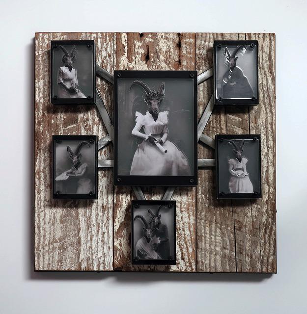 , 'The Salon Queen & Her Minions,' 2108, Joshua Tree Art Gallery