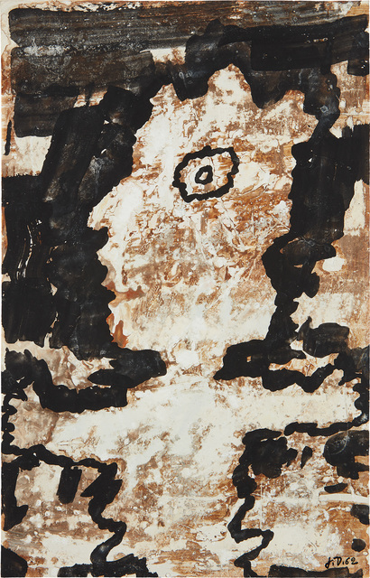 Jean Dubuffet, 'Personnage (mi corps)', 22719, Phillips