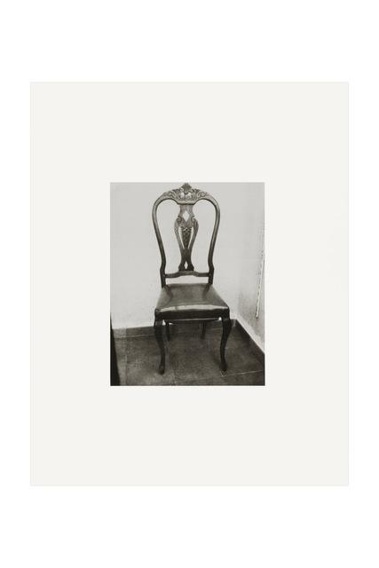 , 'Roberto Bolaño's Chair 1, 2010, Blanes, Spain,' 2010, kurimanzutto