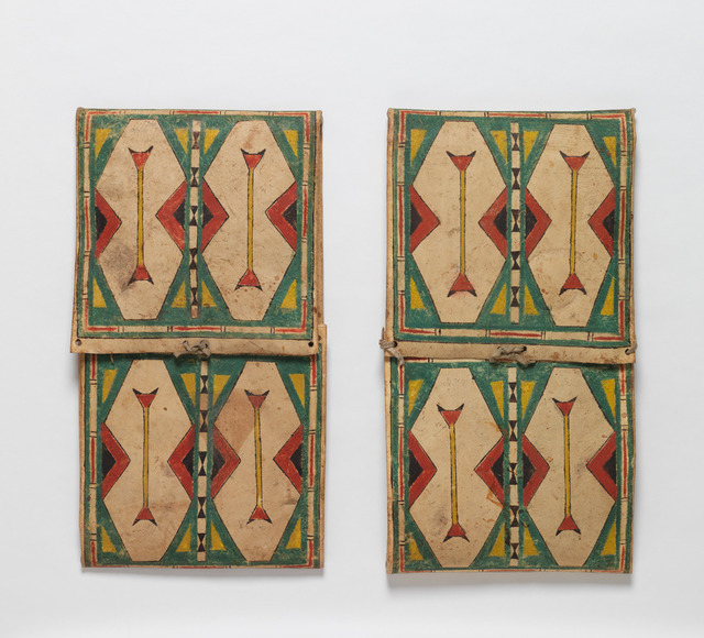 , 'Pair of Parfleche Envelopes ,' 1880, Donald Ellis Gallery