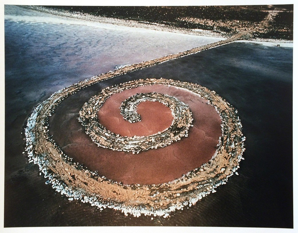 The spiral jetty essay