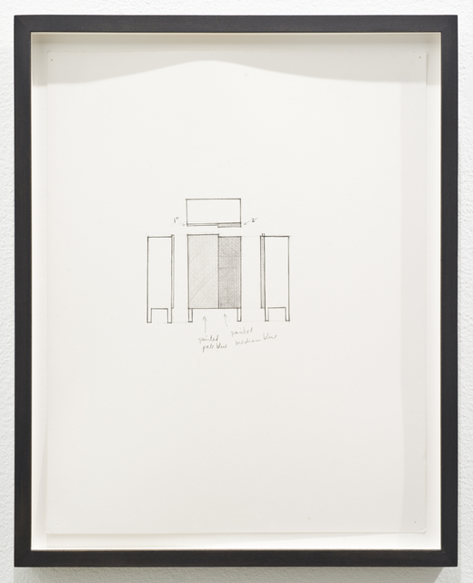 , 'Untitled (chest),' 2012, Lora Reynolds Gallery