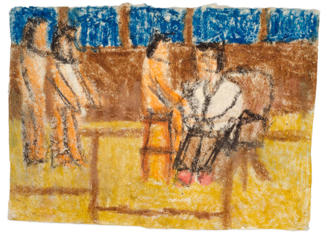 , 'Untitled (Figures with seated doctor),' n.d., Fleisher/Ollman