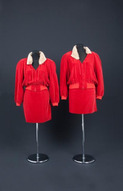 , 'Costume des artistes EVA & ADELE,' 1991, Musée d'Art Moderne de la Ville de Paris