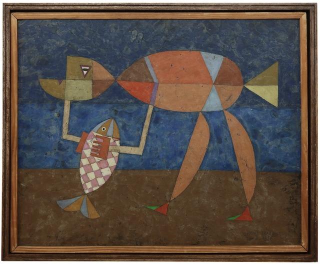 ", '""Magie de Pêche, II"" ,' 1956, Lorenzelli arte"