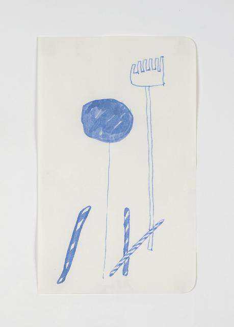 , 'Rateau Hésitant,' 2012, Galerie Laurence Bernard