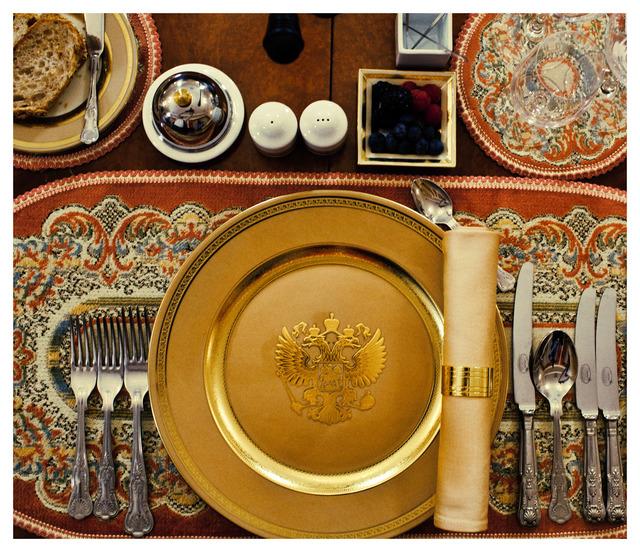 , 'Imperium (Putin's dinner table),' 2012, Kehrer Galerie