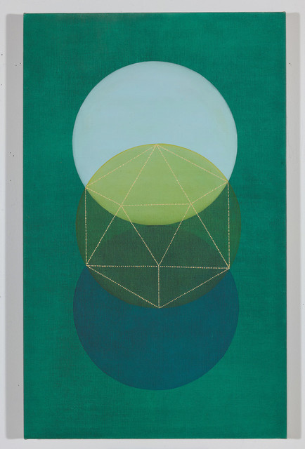 , 'Water (Green),' 2018, The Painting Center