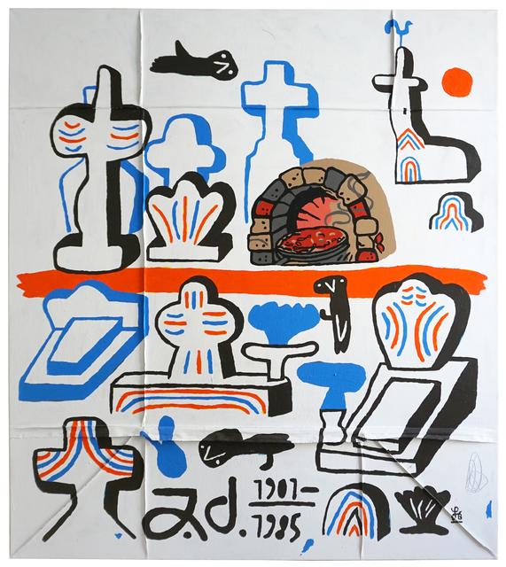Soeren Behncke, 'Jean Dubuffet 1901- 1985', 2019, V1 Gallery