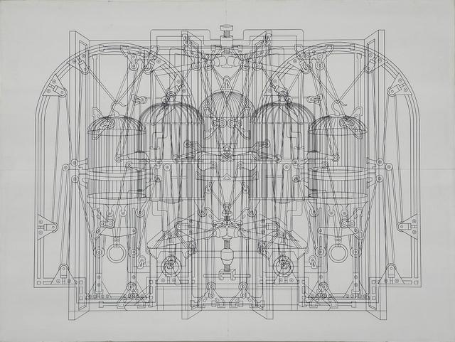 Wang Luyan 王鲁炎, 'D15-03', 2015, Galleria Alessandro Bagnai