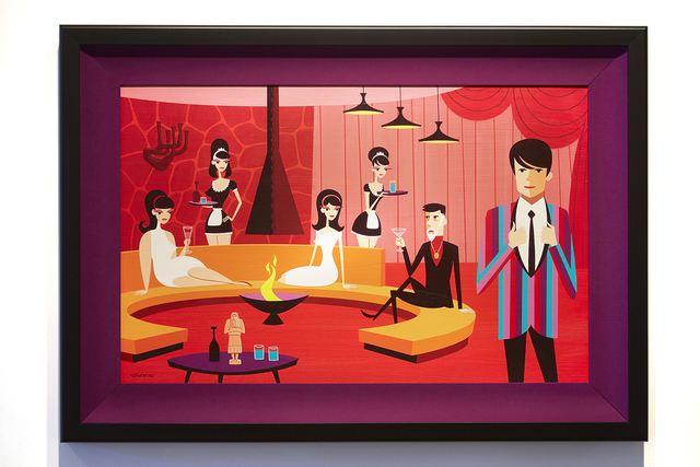 Josh Agle (Shag), 'The Favorite Son', 2015, Jonathan LeVine Projects