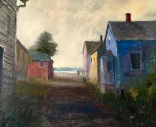 , 'Blue House at the Harbor,' 2016, Bowersock Gallery