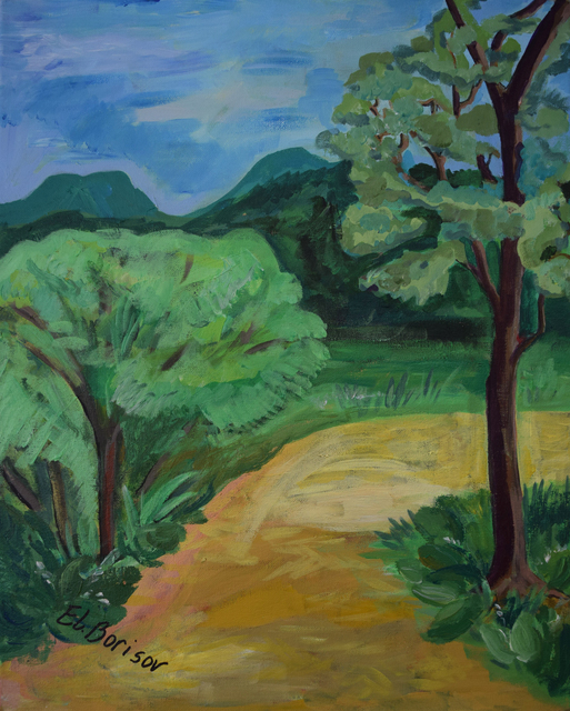 , 'The Path Leading to Forest,' 2019, Fountain House Gallery
