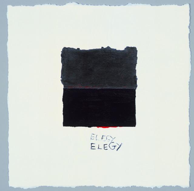 Harmony Hammond, 'Double Elegy', 2007, The Brodsky Center at PAFA