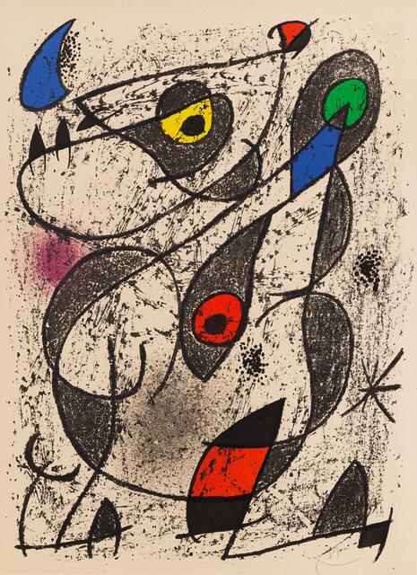 Joan Miró, 'Untitled Abstract', Hindman