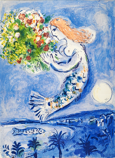 Marc Chagall, 'La Baie des Anges', 1962, Print, Lithograph in colors (framed), Rago/Wright