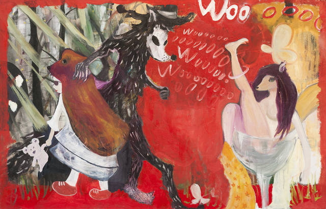 , 'Learning wolf cry,' 2013, Nuoart