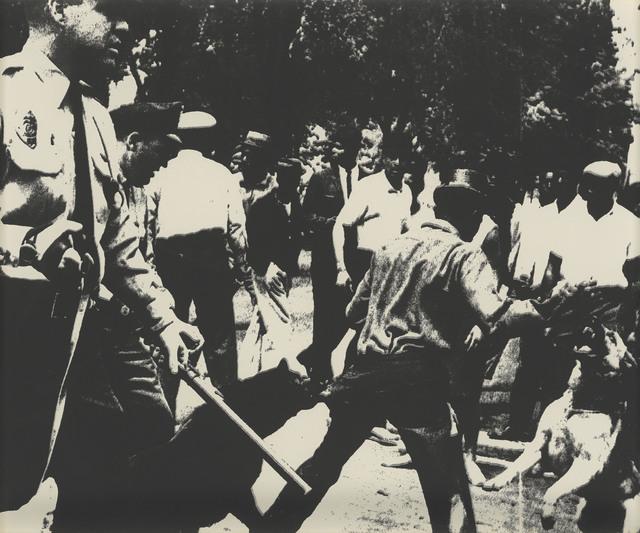 Andy Warhol, 'Birmingham Race Riot, from: Ten Works by ten Painters', 1964, Christie's
