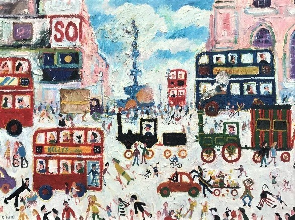 , 'Piccadilly Circus,' , Goodman Fine Art