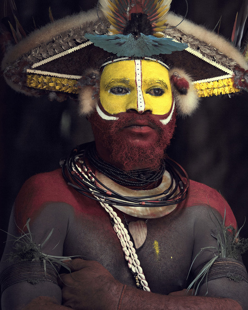 , 'XXXIII 8, Huli Wigman, Tari, Papua New Guinea,' 2017, Atlas Gallery