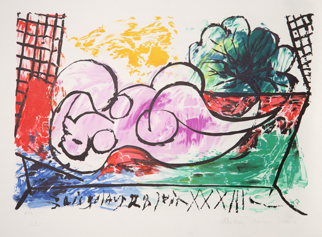 Pablo Picasso, 'Femme Endormie, 1933', 1979-1982, Print, Lithograph on Arches paper, RoGallery