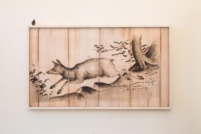 , 'Doe Deer Engraving Painting,' 2018, Mark Moore Fine Art