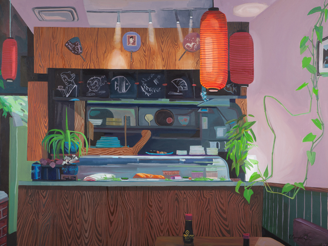 , 'Rupert and Sushi with Themes of Wood,' 2015, ZINC contemporary