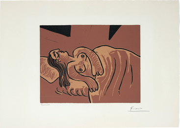 Pablo Picasso, 'Femme Endormie (Sleeping Woman),' 1962, Phillips: Evening and Day Editions
