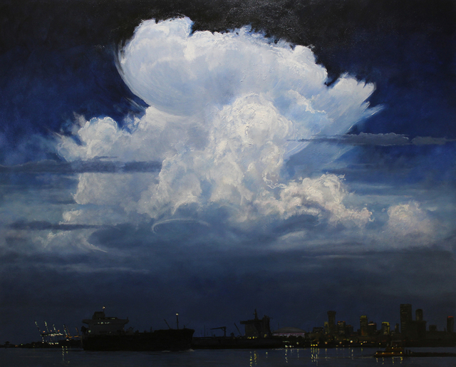 , 'Clouds Over the Crescent City,' 2018, LeMieux Galleries