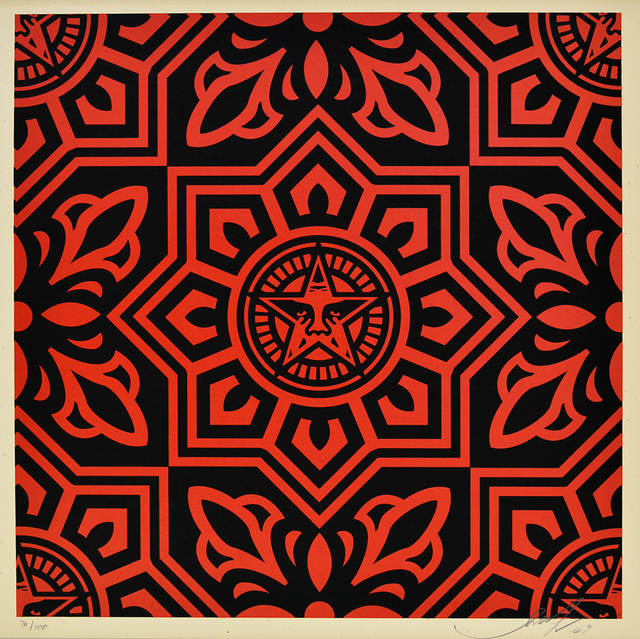 Shepard Fairey, 'Venice Pattern (Set of three)', 2009, PRINTS AND PIECES