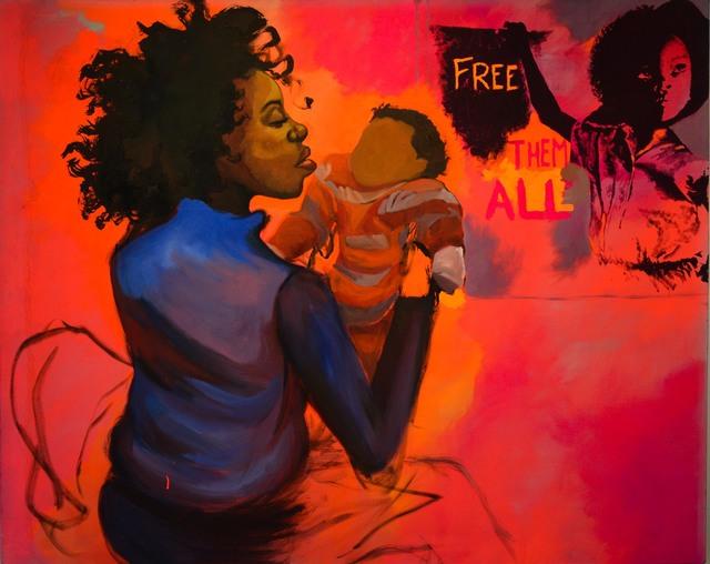 , 'Free 'em All,' 2010, Richard Beavers Gallery
