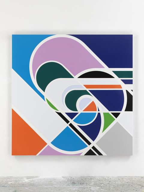 Sarah Morris, 'Hurricane', 2020, Painting, Household gloss paint on canvas, White Cube