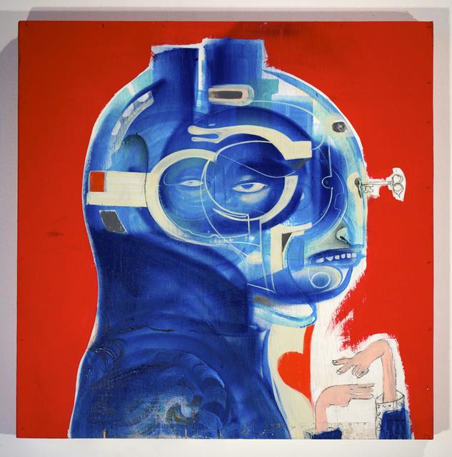 , 'Napoleon Bonefart,' 2014, Jonathan LeVine Projects