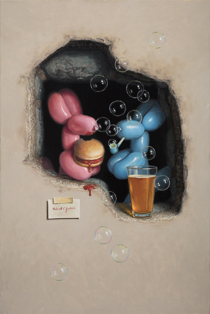 Robert C. Jackson, 'Favorite Hole in the Wall', 2018, M.A. Doran Gallery